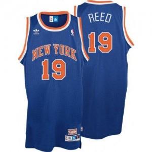 Maillot NBA Swingman Willis Reed #19 New York Knicks Throwback Bleu royal - Homme