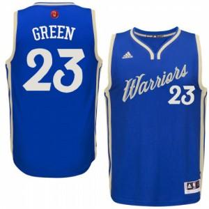 Golden State Warriors Draymond Green #23 2015-16 Christmas Day Swingman Maillot d'équipe de NBA - Bleu royal pour Homme