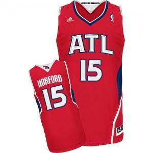 Maillot Adidas Rouge Alternate Swingman Atlanta Hawks - Al Horford #15 - Homme
