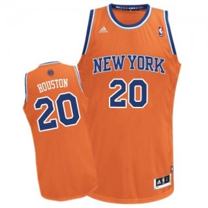 Maillot Swingman New York Knicks NBA Alternate Orange - #20 Allan Houston - Homme