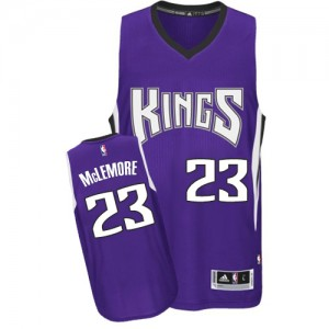 Maillot NBA Sacramento Kings #23 Ben McLemore Violet Adidas Authentic Road - Homme
