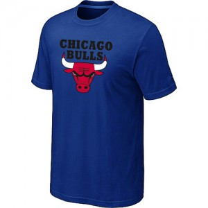 Tee-Shirt NBA Chicago Bulls Big & Tall Bleu - Homme