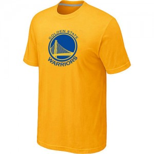 Tee-Shirt NBA Jaune Golden State Warriors Big & Tall Homme