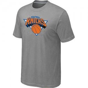 New York Knicks Big & Tall Gris Tee-Shirt d'équipe de NBA magasin d'usine - pour Homme