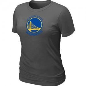Golden State Warriors Big & Tall Tee-Shirt d'équipe de NBA - Gris foncé pour Femme