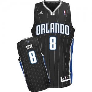 Orlando Magic Channing Frye #8 Alternate Swingman Maillot d'équipe de NBA - Noir pour Homme