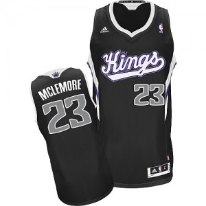 Maillot NBA Swingman Ben McLemore #23 Sacramento Kings Alternate Noir - Homme