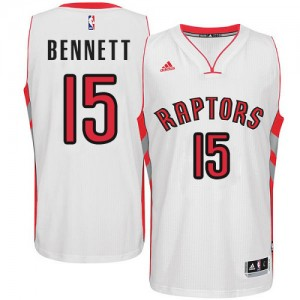 Maillot NBA Swingman Anthony Bennett #15 Toronto Raptors Home Blanc - Homme