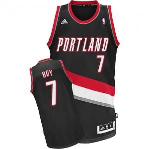 Maillot NBA Noir Brandon Roy #7 Portland Trail Blazers Road Swingman Homme Adidas