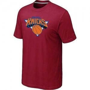 T-shirt principal de logo New York Knicks NBA Big & Tall Rouge - Homme