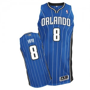Maillot Authentic Orlando Magic NBA Road Bleu royal - #8 Channing Frye - Homme