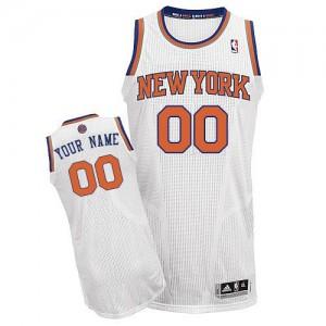 Maillot New York Knicks NBA Home Blanc - Personnalisé Authentic - Enfants