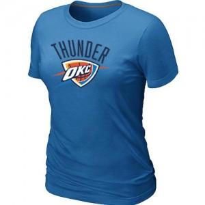Oklahoma City Thunder Big & Tall Tee-Shirt d'équipe de NBA - Bleu clair pour Femme