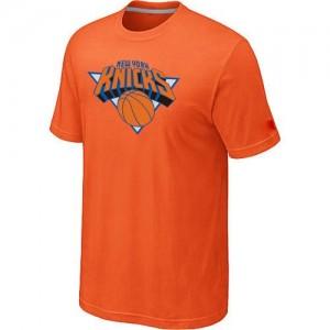 Tee-Shirt Orange Big & Tall New York Knicks - Homme