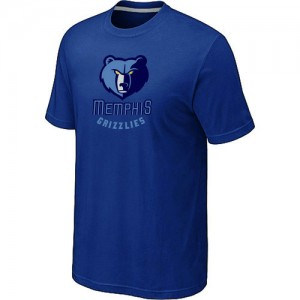 Tee-Shirt NBA Bleu Memphis Grizzlies Big & Tall Homme