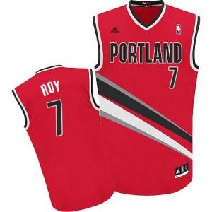 Maillot NBA Rouge Brandon Roy #7 Portland Trail Blazers Alternate Swingman Homme Adidas