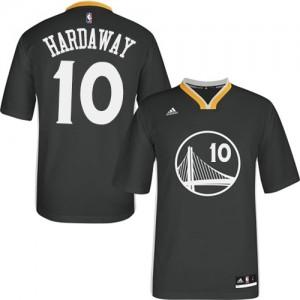 Maillot Adidas Noir Alternate Authentic Golden State Warriors - Tim Hardaway #10 - Homme