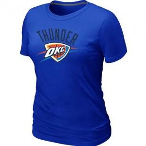 Oklahoma City Thunder Big & Tall Tee-Shirt d'équipe de NBA - Bleu pour Femme