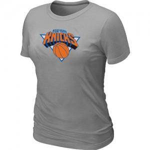 Tee-Shirt NBA New York Knicks Gris Big & Tall - Femme