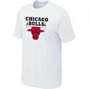 Tee-Shirt NBA Chicago Bulls Blanc Big & Tall - Homme