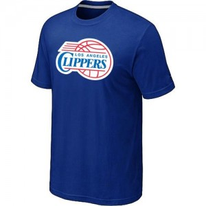T-shirt principal de logo Los Angeles Clippers NBA Big & Tall Bleu - Homme