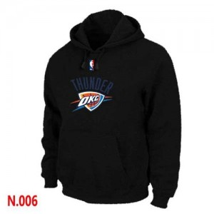 Sweat à capuche NBA Oklahoma City Thunder Noir - Homme