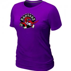 Tee-Shirt Violet Big & Tall Toronto Raptors - Femme