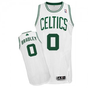 Boston Celtics #0 Adidas Home Blanc Authentic Maillot d'équipe de NBA 100% authentique - Avery Bradley pour Homme