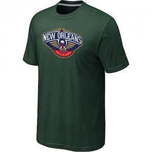 Tee-Shirt NBA Vert foncé New Orleans Pelicans Big & Tall Homme