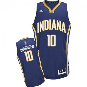 Maillot Swingman Indiana Pacers NBA Road Bleu marin - #10 Chase Budinger - Homme