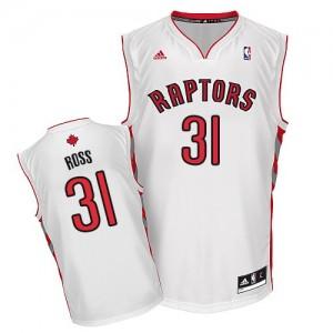 Maillot NBA Blanc Terrence Ross #31 Toronto Raptors Home Swingman Homme Adidas