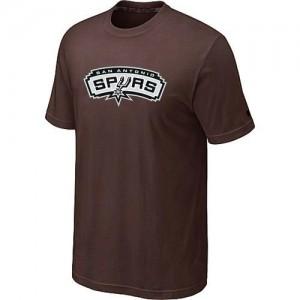 San Antonio Spurs Big & Tall marron Tee-Shirt d'équipe de NBA prix d'usine en ligne - pour Homme