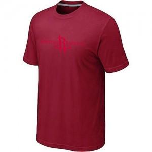 Houston Rockets Big & Tall Tee-Shirt d'équipe de NBA - Rouge pour Homme