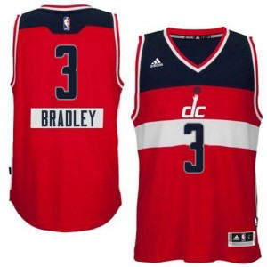 Maillot NBA Rouge Bradley Beal #3 Washington Wizards 2014-15 Christmas Day Authentic Homme Adidas