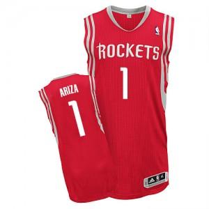 Houston Rockets Trevor Ariza #1 Road Authentic Maillot d'équipe de NBA - Rouge pour Homme