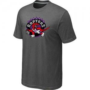 T-shirt principal de logo Toronto Raptors NBA Big & Tall Gris foncé - Homme
