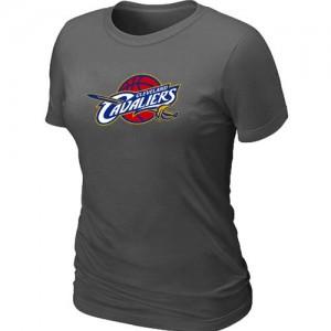 Cleveland Cavaliers Big & Tall Tee-Shirt d'équipe de NBA - Gris foncé pour Femme