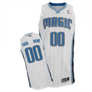 Maillot Adidas Blanc Home Orlando Magic - Authentic Personnalisé - Homme