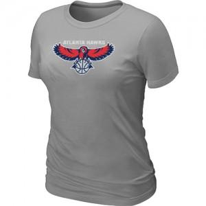 Tee-Shirt Gris Big & Tall Atlanta Hawks - Femme
