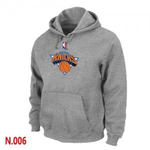 Sweat à capuche NBA Gris New York Knicks Homme