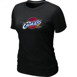 Cleveland Cavaliers Big & Tall Tee-Shirt d'équipe de NBA - Noir pour Femme