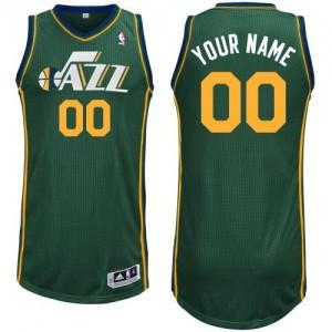 Maillot Utah Jazz NBA Alternate Vert - Personnalisé Swingman - Femme