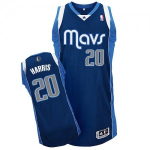 Maillot Authentic Dallas Mavericks NBA Alternate Bleu marin - #20 Devin Harris - Homme