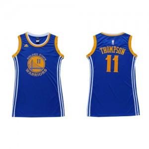 Maillot Swingman Golden State Warriors NBA Dress Bleu - #11 Klay Thompson - Femme