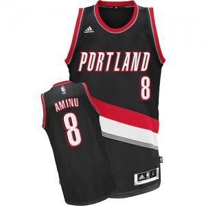 Maillot NBA Swingman Al-Farouq Aminu #8 Portland Trail Blazers Road Noir - Homme