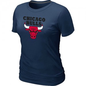 Tee-Shirt NBA Chicago Bulls Marine Big & Tall - Femme