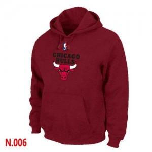 Sweat à capuche NBA Chicago Bulls Gris foncé - Homme