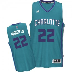 Maillot NBA Swingman Brian Roberts #22 Charlotte Hornets Road Bleu clair - Homme