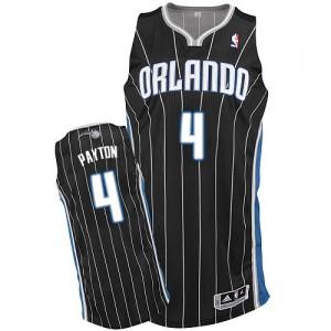 Orlando Magic #4 Adidas Alternate Noir Authentic Maillot d'équipe de NBA achats en ligne - Elfrid Payton pour Homme