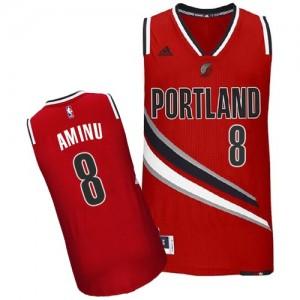 Portland Trail Blazers Al-Farouq Aminu #8 Alternate Swingman Maillot d'équipe de NBA - Rouge pour Homme